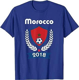 Morocco Soccer shirt Team Morroco 2018 TShirt Football