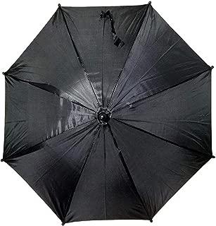black second line umbrella
