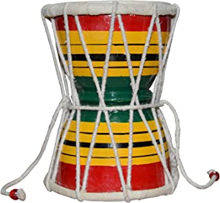 DOBANI Damru Damroo Drum Handmade indian Damaru musical instrument shiva