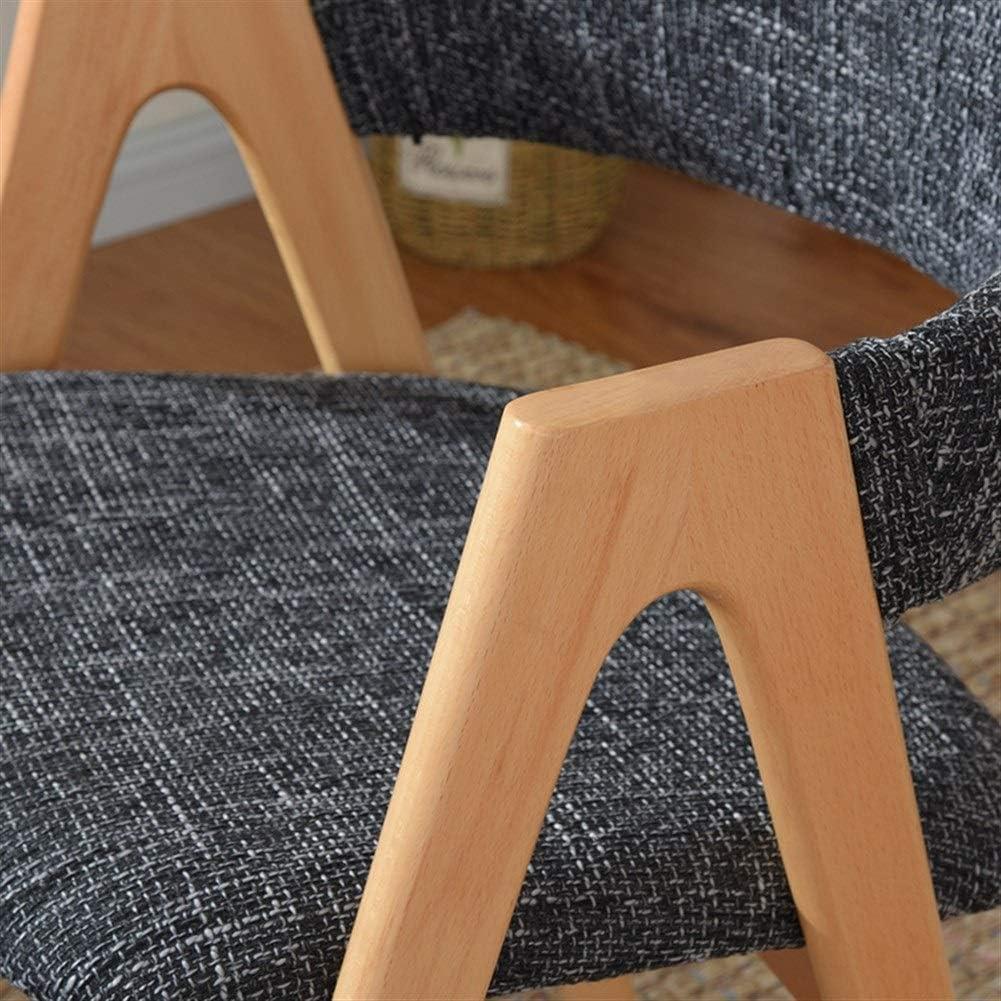 Tabouret De Chaise De Restaurant Nordique En Bois Massif Chaise Arrière Ordinateur Bureau À Domicile Chaise Simple En Bois Moderne WXIFEID (Color : J) H