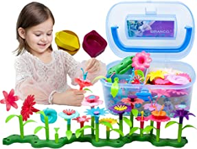 BIRANCO. Flower Garden Building Toys – Build a Bouquet Floral Arrangement Playset..