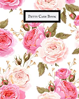 Petty Cash Book: Cash recording journal for tracking payments |Payment & Spending Tracker within the office, School, Restaurant, Business & Personal use