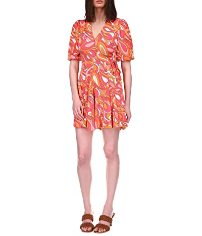 MICHAEL Michael Kors Faux Wrap Mini Dress