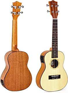 wide neck ukulele uk