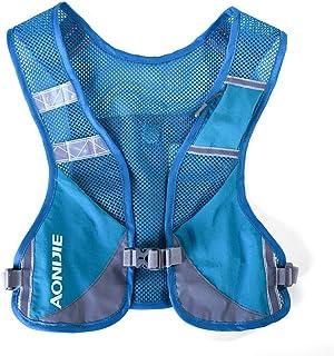 AONIJIE Unisex Running Chaleco de hidratación Ultraligero Mochilas Trail Ideal para Senderismo, maratón, Escalada y Ciclismo