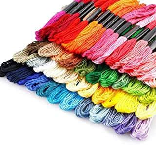 12Pcs Black Cross Stitch Cotton Embroidery Thread Floss Sewing Skien DIY Tools