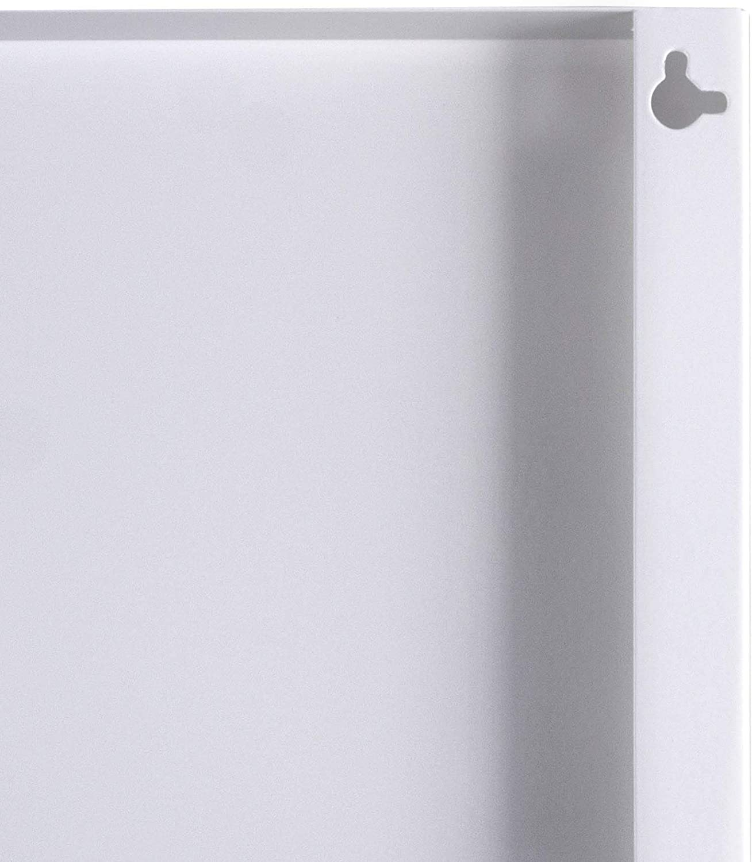B/üro oder Kinderzimmer Metall Pinnwand magnetisch Magnetboard mit Motiv Sonne im Weltall Magnetwand f/ür K/üche Memoboard mit Magneten banjado Design Magnettafel 30x75cm gro/ß