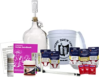 Home Brew Ohio - COMINHKPR147912 Ohio Upgraded 1 gal Wine from Fruit Kit, Includes Mini Auto-Siphon