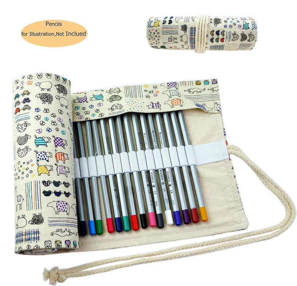 CREOOGO Colored Coloring Portable Organizer