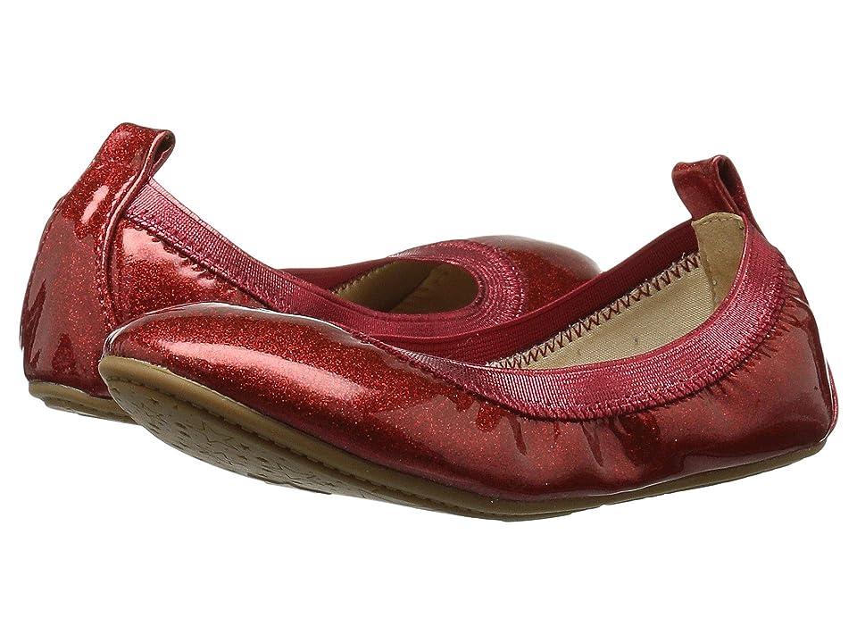 Yosi Samra Kids Limited Edition Miss Samara (Toddler/Little Kid/Big Kid) (Red Patent Glitter) Girls Shoes