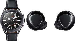 Samsung Galaxy Watch 3 45mm Bluetooth (Mystic Black),SM-R840NZKAINS with Buds+