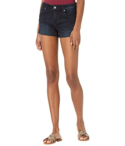 Blank NYC Black The Essex Shorts with Slit in Into The Dark Women