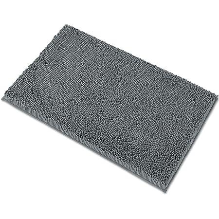 ZHIMI Bath Mat Rugs Non-Slip Memory Foam Soft Floor Mats Bathroom Decor Mat Seashells on The Beach Absorption Quickly Drying Comfort Shower Rug
