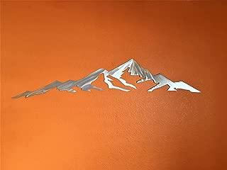 Mountains Are Calling Metal Wall Art Mount Elbert Colorado Fourteener Gift Artwork Rustic 14er Home Decor