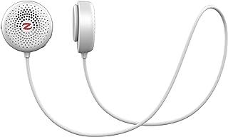 Zulu Audio(ズールーオーディオ) ながら作業に最適な 身につける 耳が痛くならない ハンズフリー 通話 軽量 防水 Bluetooth ウェアラブル ネック スピーカー [日本語説明書 保証書 付き・技適取得済み] (White(白))