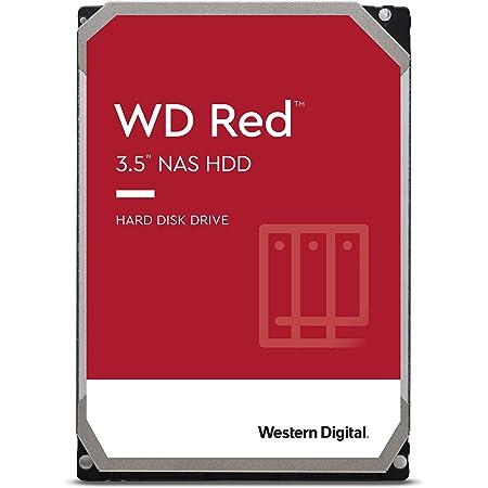 "WD Red WD140EFFX Disco Duro 3.5"" para Dispositivos NAS 5400 RPM Class 14TB, SATA 6 GB/s, CMR, 512MB Cache, Rojo"