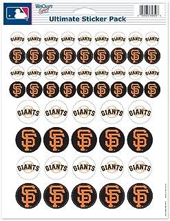 WinCraft MLB San Francisco Giants Vinyl Sticker Sheet, 8.5