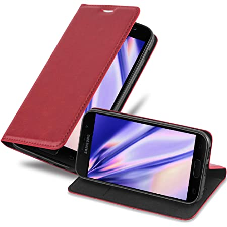 Cadorabo Hülle Für Samsung Galaxy A3 2017 In Apfel Rot Elektronik