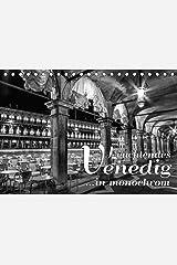 Leuchtendes Venedig …in monochrom (Tischkalender 2021 DIN A5 quer) Kalender