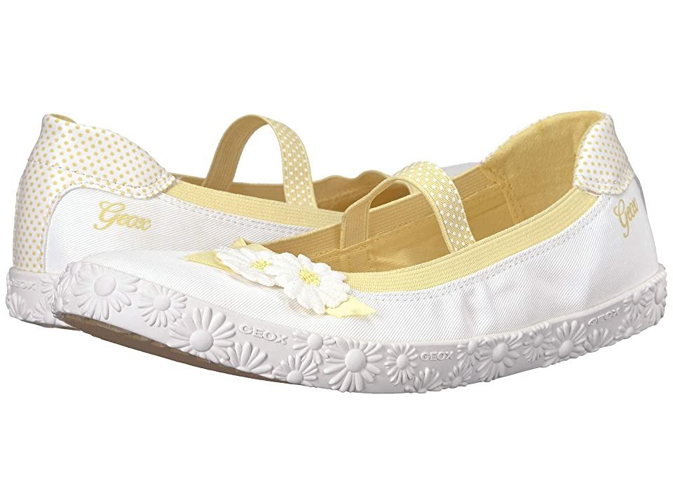 Geox Kids Kilwi Girl 46 (Big Kid) (White) Girl