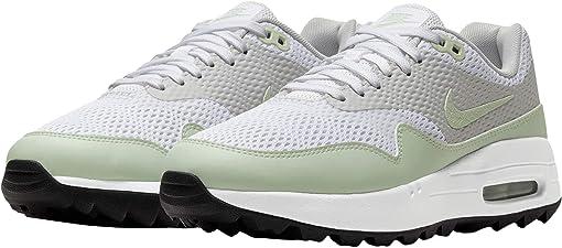 나이키 에어맥스 1 G 여성 골프화 Nike Golf Air Max 1 G,White/Jade Aura