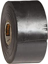 3M Linerless Electrical Rubber Tape 2242, 1-1/2 in x 15 ft, 1 in core, Black