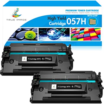 Black, 2-Pack Catch Supplies Compatible Toner Cartridge Replacement for Canon 057H Cartridge 057H Toner 057H for Canon imageCLASS LBP226dw LBP227dw LBP228dw MF445dw MF448dw MF449dw Printer Toner