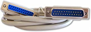 Your Cable Store 6 Foot DB25 25 Pin Serial Port Cable Male/Female RS232