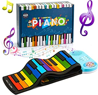 ATOPDREAM 49-Key Roll-up Piano - Educational Gifts for Kids