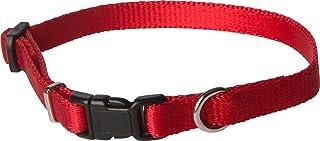 """طوق كلاب Kwik Klip مصنوع من النايلون من OmniPet 8-11"""" 3825-RD"""