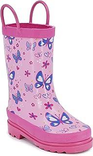 LONDON FOG Arlesey Toddler Girls Rain Boots
