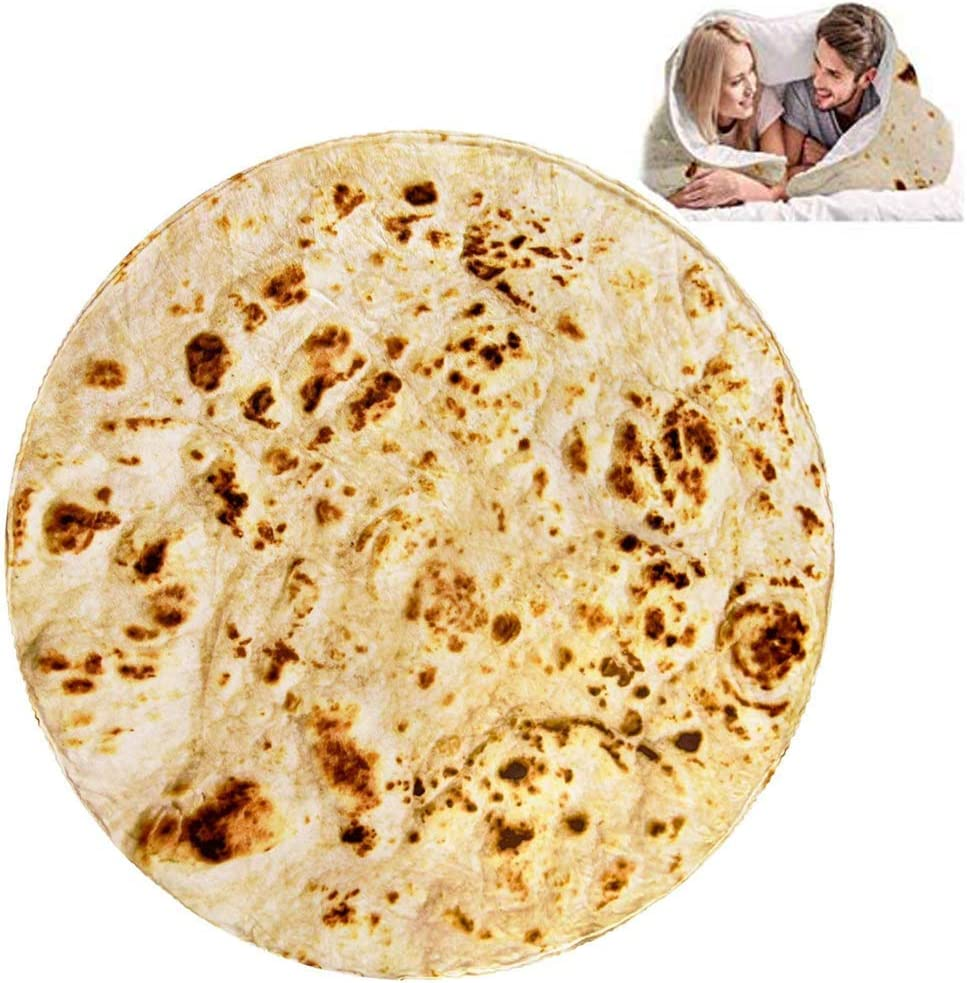 Burrito Ranking TOP5 Tortilla Blanket Perfectly Round Branded goods Blan Wrap Food Novelty