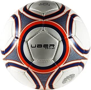 Uber Soccer Regulation Futsal Soccer Ball - 3 Color Options (Brazilian, Green/Gold, Blue/Orange) - Size 3 or 4