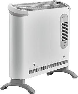 EWT CLIMA 281 TSF - Calefactor (230V, 50 Hz, 2000W, 68 cm, 17,5 cm, 38 cm) Gris, Color blanco