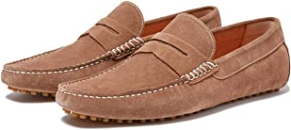 New Republic Men's Barclay Suede Driver