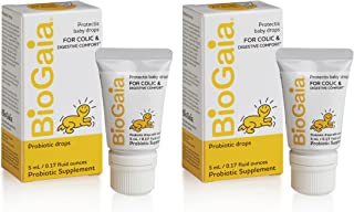 BioGaia Protectis Probiotics Drops for Baby, Infants, Newborn and Kids Colic, Spit-Up, Constipation and Digestive Comfort,...
