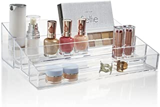 STORi Audrey Cosmetic and Vanity Organizer   Clear