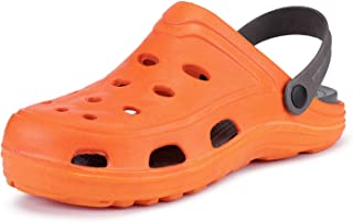 Super Orange Latest and Tredy Comfortable,Soft Light Weight PVC Clog for Boy's