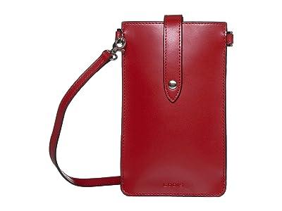 Lodis Accessories Audrey Under Lock Key Phone Crossbody (Red) Handbags