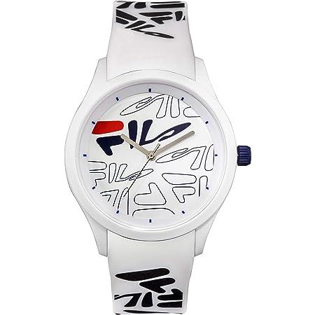 FILA Analog Watch - Watches for Women - Womens Watches - Cool Watches for Men - Mens Wrist Watch - Running Watch - Unisex Watch - Fila Watches for Men - White Fila Watch