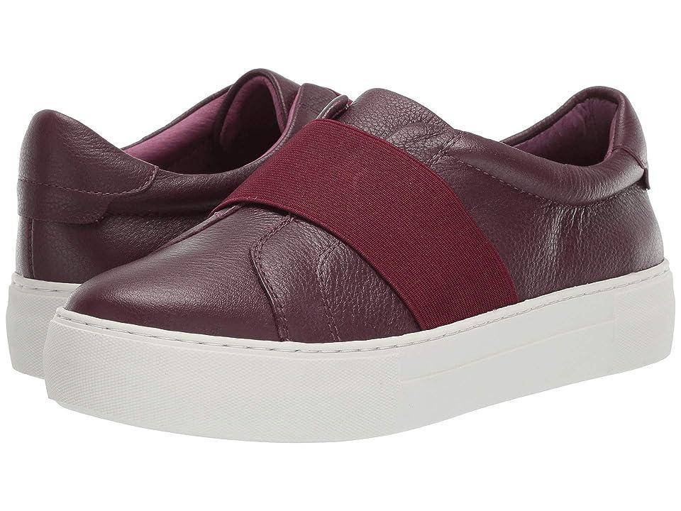J/Slides Adorn (Burgundy Leather) Women