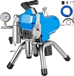 VEVOR Pulverizador de Pintura sin Aire de Alta Presión Máquina de Pulverización de Pintura 2200W Pulverizador Coche Pulverizador de Pintura
