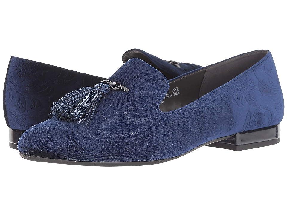 A2 by Aerosoles Roundabout (Dark Blue Fabric) Women