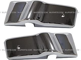 Mirror Bracket Plastic chrome Pair (Fit: Freightliner Century & Columbia)