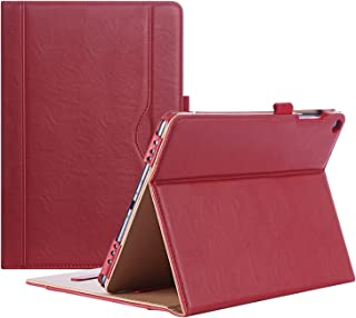 Procase ASUS ZenPad 3S 10 9.7 Inch Case Z500M - Stand Cover Folio Case for ASUS ZenPad 3S 10 Tablet - Red
