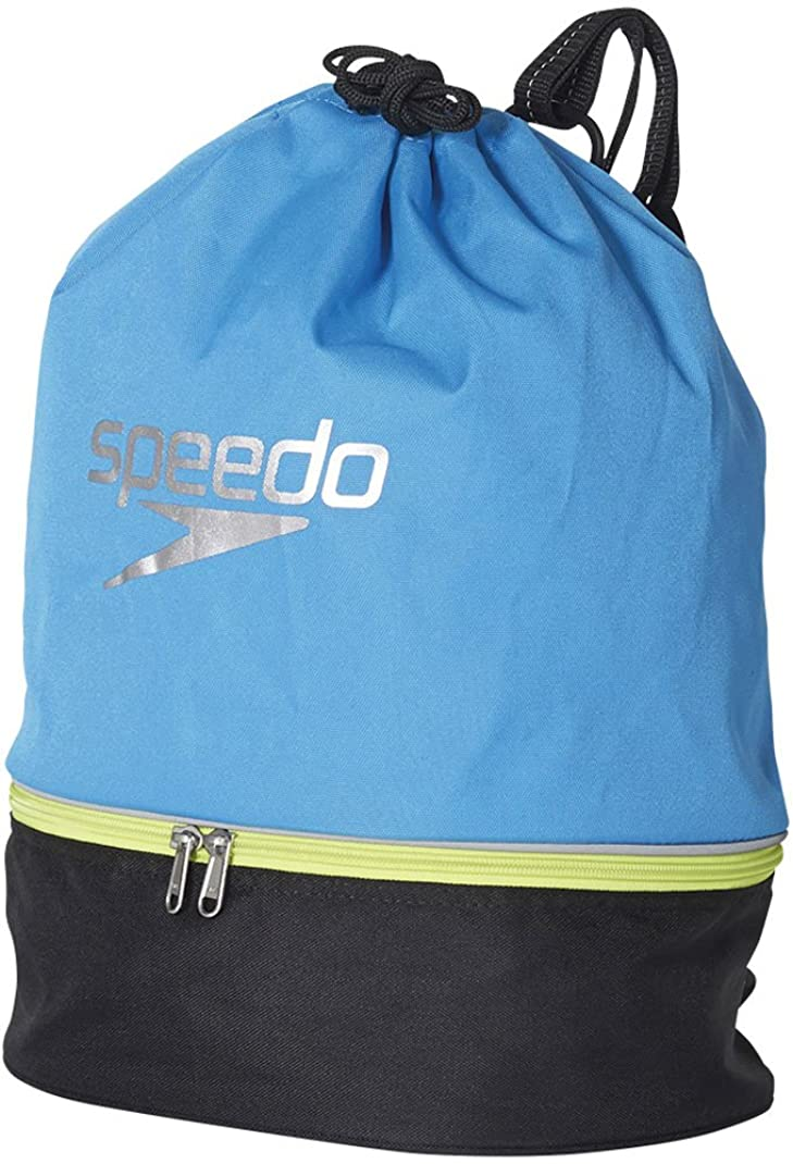 活力空ふさわしいSpeedo(スピード) プールバッグ スイムバッグ SD95B04 ジャパンブルー×ブラック