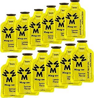 マグネシウムチャージサプリメント Mag-on(マグ・オン) エナジージェル レモン味(12個セット)
