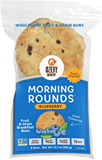 Ozery Bakery Blueberry Morning Rounds, 6-Count Bag (6-Pack)