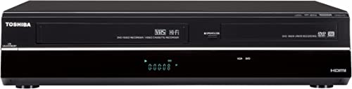 Toshiba DVR670/DVR670KU DVD/VHS Recorder with Built in Tuner, Black (2009 Model) product image