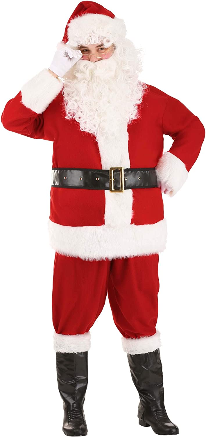 Adult Holiday Santa Claus Classic Outfit Lar Sale item Costume New product type